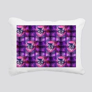 illuminati cat Rectangular Canvas Pillow