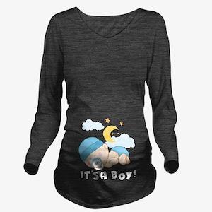 It's A Boy! Long Sleeve Maternity T-Shirt