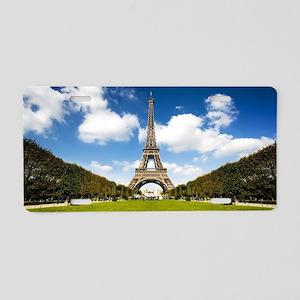 Paris, France - Eiffel Towe Aluminum License Plate