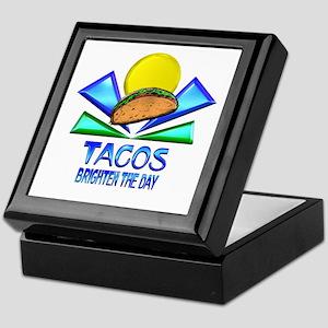 Tacos Brighten the Day Keepsake Box