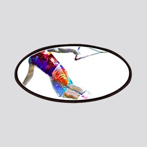 Super Crayon Colored Wakeboarding Patch