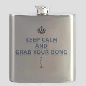 Keep Calm And Grab Your Bong Flask
