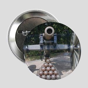 "Civil War Cannon  2.25"" Button"