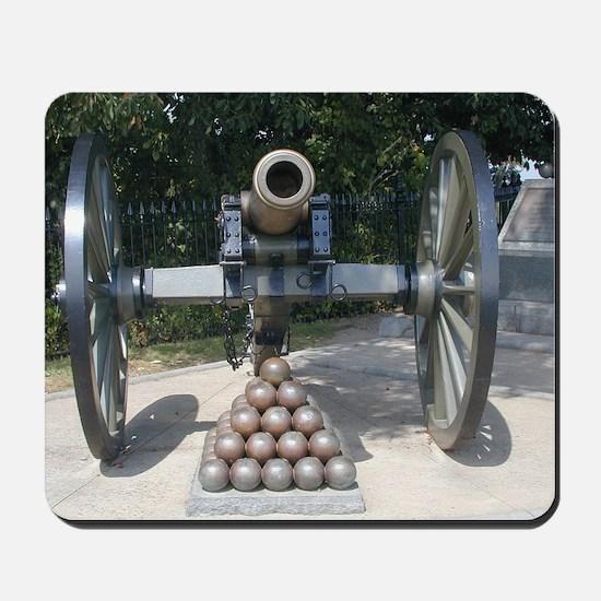 Civil War Cannon  Mousepad