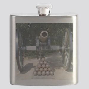 Civil War Cannon  Flask