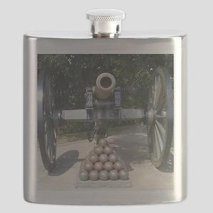 Civil War Cannon  Flask