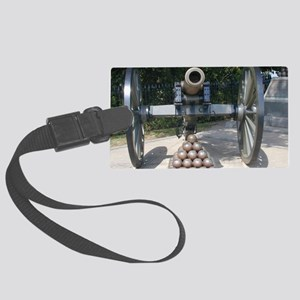 Civil War Cannon  Large Luggage Tag