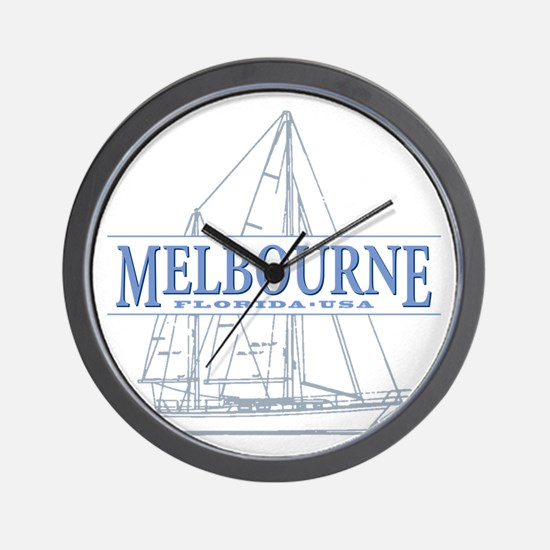 Melbourne Florida Wall Clock