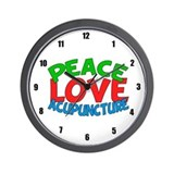 Acupuncturist Wall Clocks