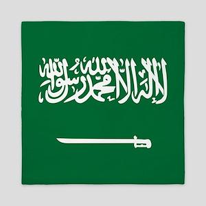 Flag of Saudi Arabia Queen Duvet