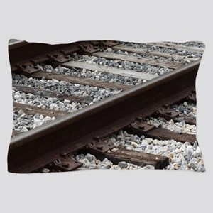 Railroad Track Pillow Case