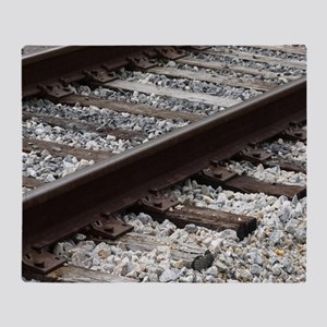 Railroad Track Throw Blanket