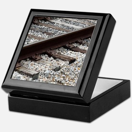 Railroad Track Keepsake Box