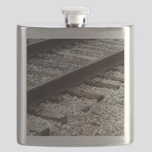 Railroad Track Flask