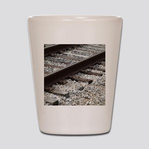 Railroad Track Shot Glass