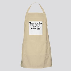 SHERLOCK HOLMES - THERE IS NOTHING  Apron