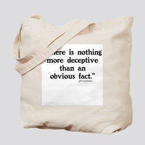 SHERLOCK HOLMES - THERE IS NOTHING  Tote Bag