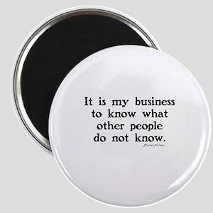 SHERLOCK HOLMES - IT IS MY BUSINESS Magnet