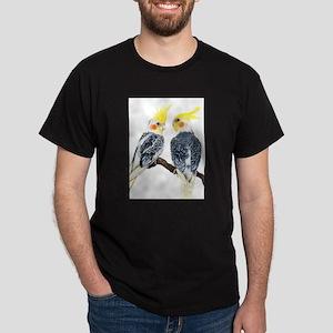 Cockatiel Ash Grey T-Shirt