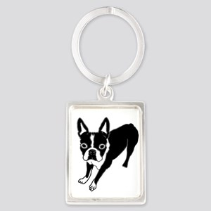 Boston Terrier Keychains