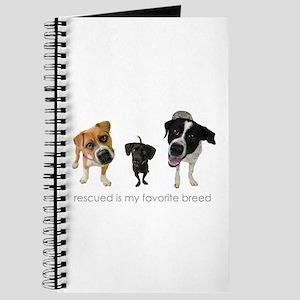 Rescued Favorite Breed Journal