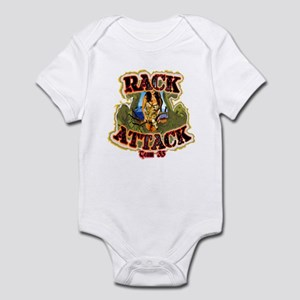 Team 33 Rack Attack Infant Bodysuit