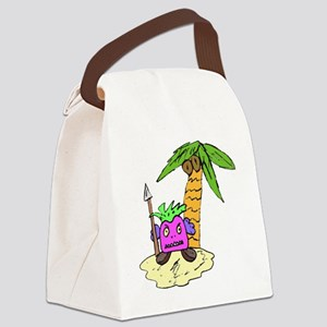 Planet of the Grapes Canvas Lunch Bag