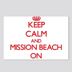 Keep calm and Mission Bea Postcards (Package of 8)