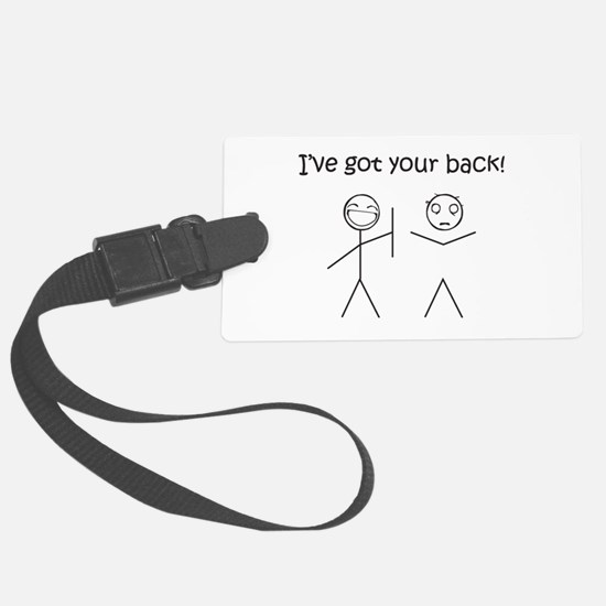 I've got your back Luggage Tag
