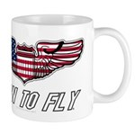 Born To Fly Version 1 Mug