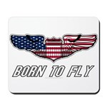 Born To Fly Version 1 Mousepad