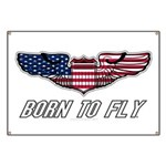 Born To Fly Version 1 Banner