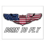 Born To Fly Version 1 Small Poster
