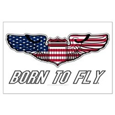 Born To Fly Version 1 Large Poster