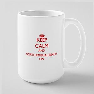 Keep calm and North Imperial Beach California Mugs