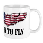 Born To Fly Version 2 Mug