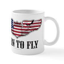 Born To Fly Version 2 Mug