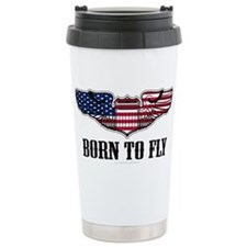 Born To Fly Version 2 Stainless Steel Travel Mug