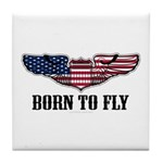 Born To Fly Version 2 Tile Coaster