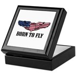 Born To Fly Version 2 Keepsake Box
