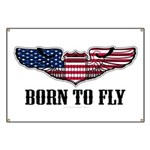 Born To Fly Version 2 Banner