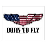 Born To Fly Version 2 Small Poster