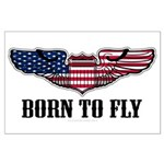 Born To Fly Version 2 Large Poster