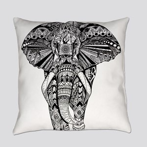 Elephant Everyday Pillow