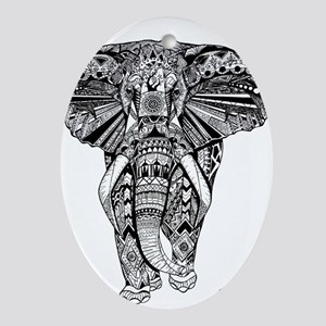 Elephant Ornament (Oval)