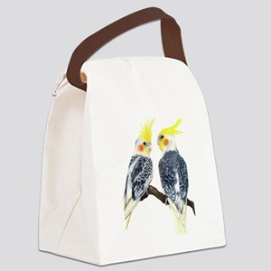 cockatiels Canvas Lunch Bag