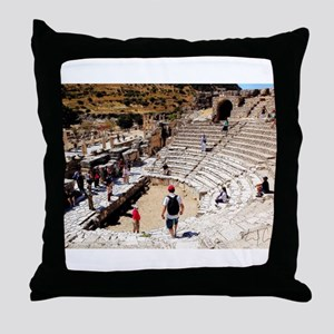 The Past's Present Throw Pillow