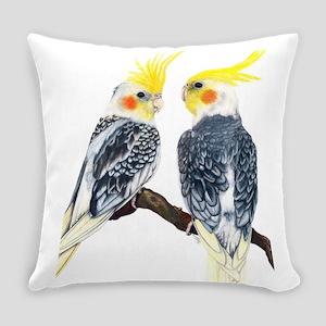 cockatiels Everyday Pillow