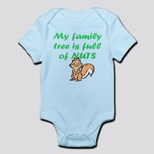 FAMILY TREE FULL OF NUTS Body Suit