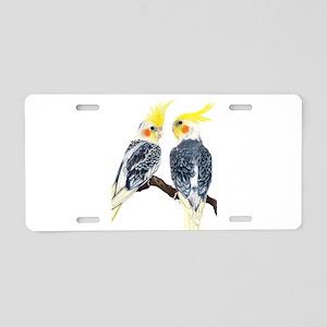 cockatiels Aluminum License Plate